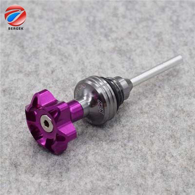 CNC aluminio motocicleta parte varilla de aceite del motor para <span class=keywords><strong>gy6</strong></span>