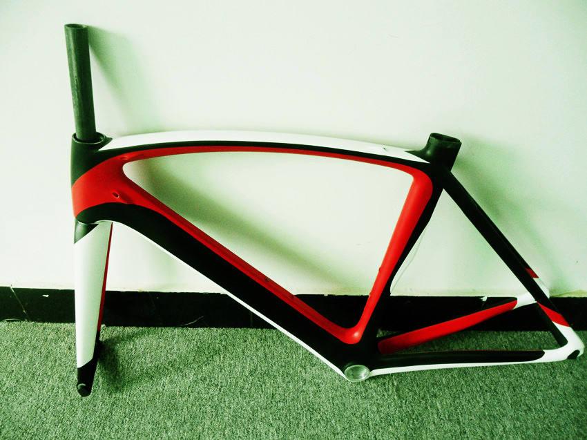 2014 último cuadro de fibra de carbono elegante&cuadro de fibra de carbono&aparcamiento de bicicletas