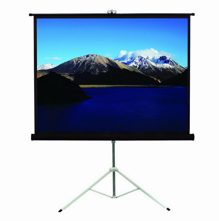 """1080 P проектор штатив экран с соотношение 1:1 96 """"Белый Пластиковый штатив проектор с экраном для портативный проектор"""