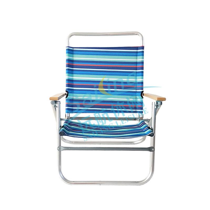Sedia da spiaggia zaino Nautica Sedia da spiaggia pieghevole in alluminio Tommy Bahama