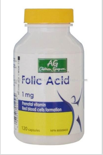la asistencia sanitaria canada producto de ácido fólico