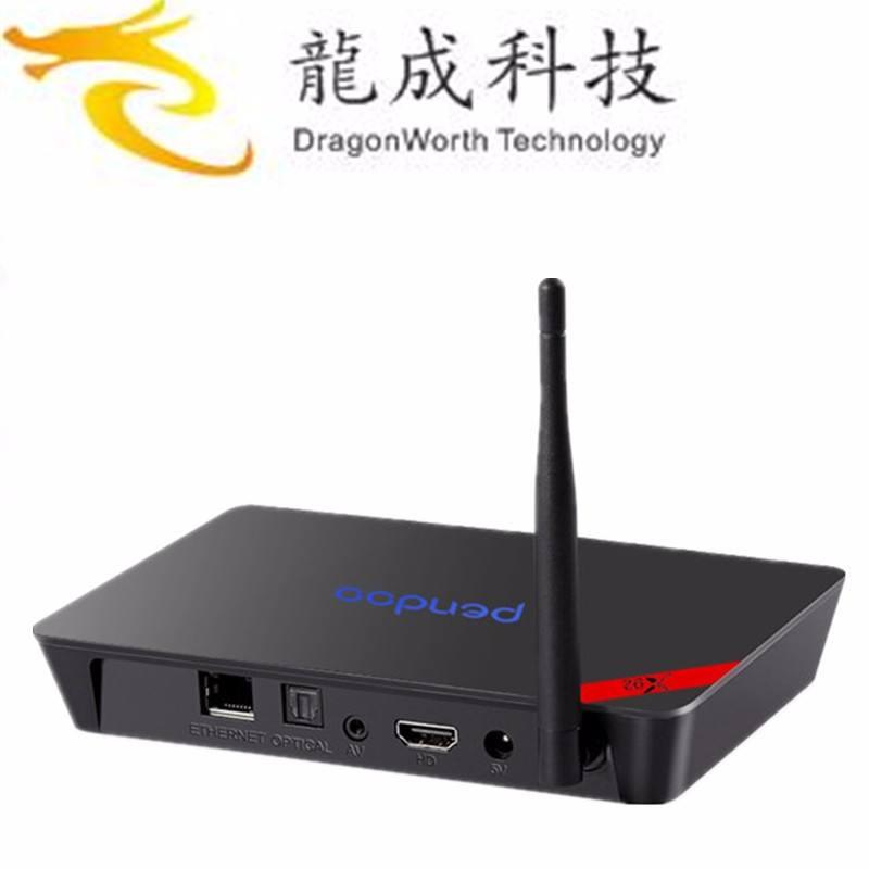 OEM/ODM Pendoo X92 S912 Octa-Core Kodi UHD 4 K * 2 K/XBMC DLNA Wi-fi com 2 gb + 16 gb bluetooth smart tv box