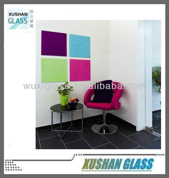 Vidrio magnético tabla borrado secado 40cm x 40cm, pizarra vidrio