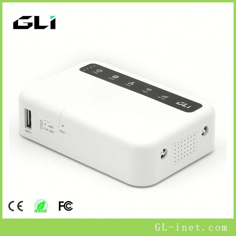 GLi Cdma/<span class=keywords><strong>Gsm</strong></span> 3G/4G Usb 2. 0 <span class=keywords><strong>Router</strong></span> Wifi