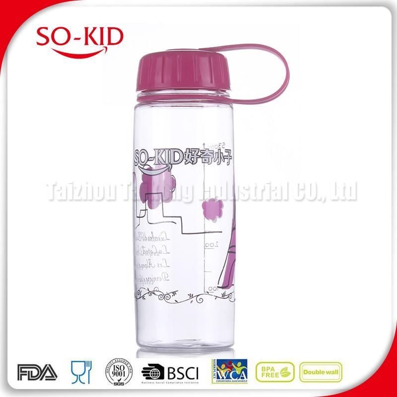 Personalizado botellas de agua bpa segura para los niños