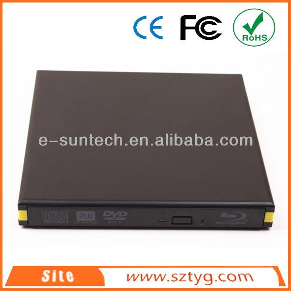 Ecd008-bd nova externo portátil slim usb3.0 blu ray cd/gravador de dvd rw laptop/caderno de dvd externo usb drive