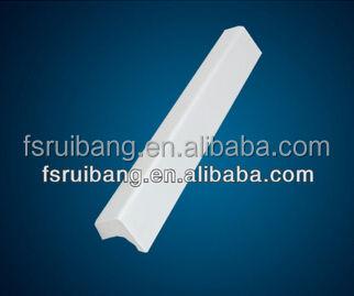 Personalizada de alta precisión de aluminio cepillado maneja