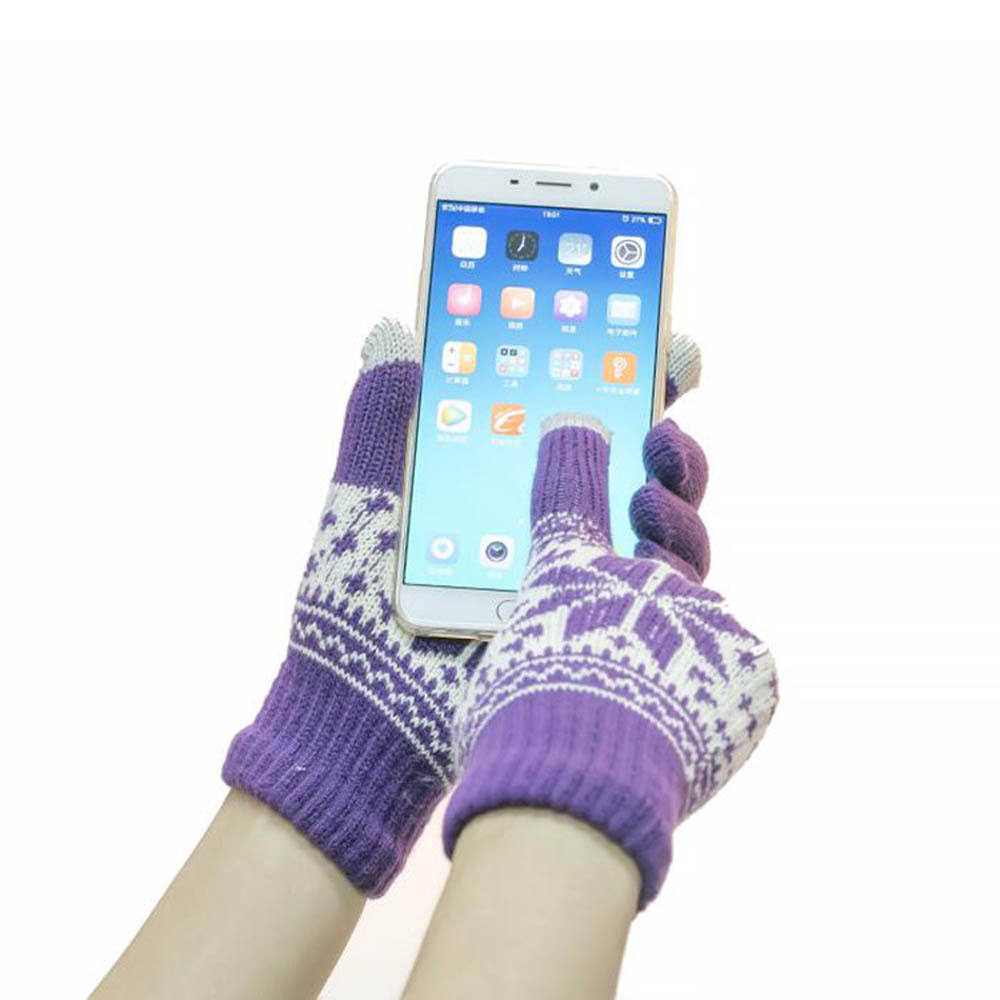5 Fingers Texting Winter touchscreen glove Touch Screen Glove for Smartphone Pad