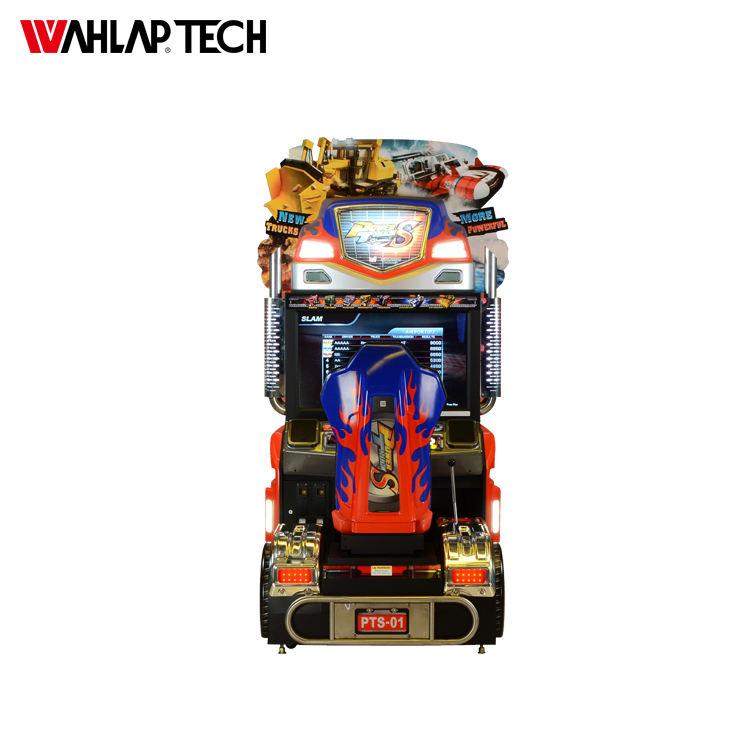 الاطفال عملة تعمل القيادة سيارة سباق 3d ماكينة مقاعد ألعاب المحاكاة