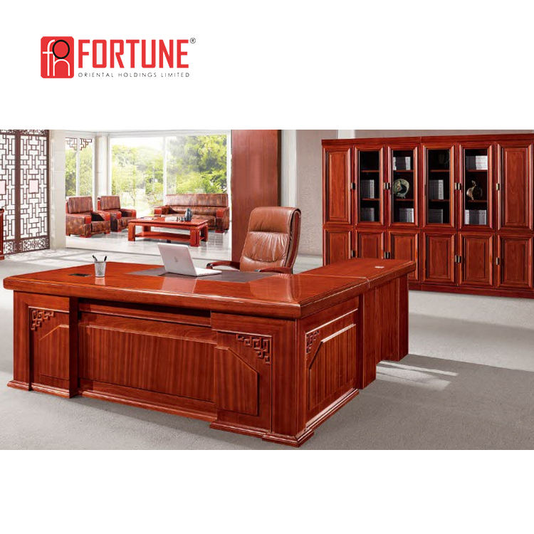 High quality wood office desk high end office furniture
