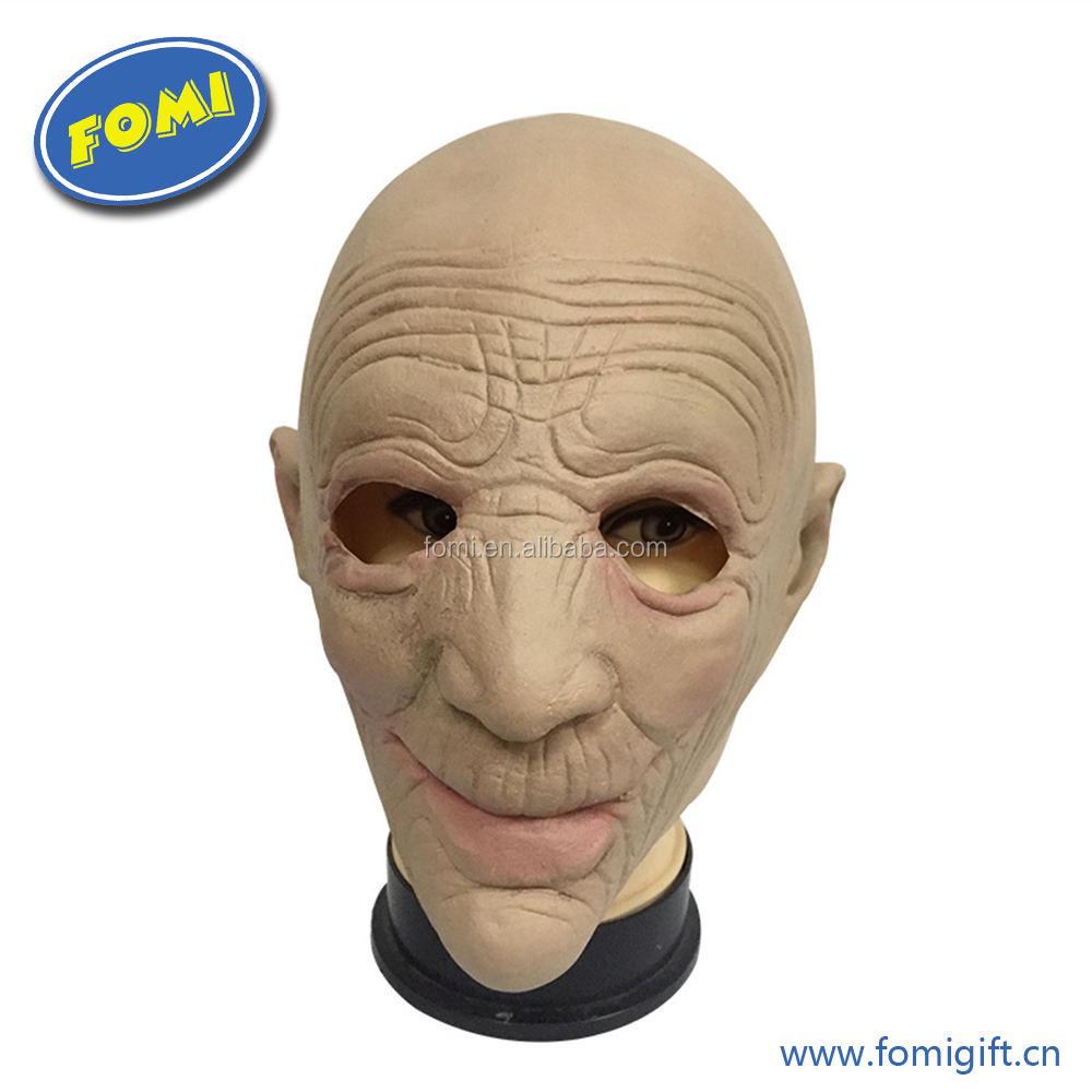 Alta qualidade máscara de látex halloween máscara de látex rosto humano cosplay