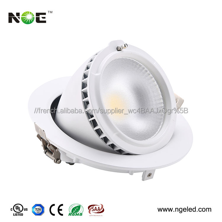 <span class=keywords><strong>montage</strong></span> <span class=keywords><strong>en</strong></span> <span class=keywords><strong>surface</strong></span> downlight mené SMD downlight 28w downlight réglable