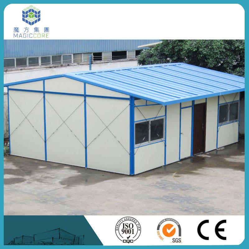 조립식 잘 디자인 스틸 프레임 샌드위치 패널 집 재활용 사용 environmently 노동 큰 프로젝트