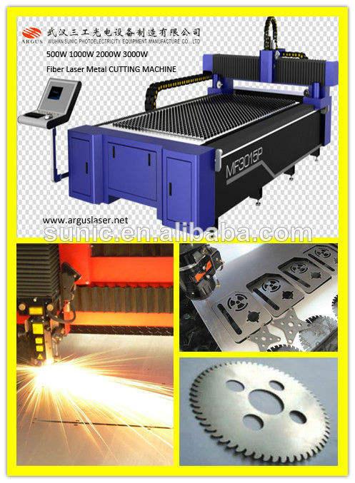 500w1000w2000w3000ワットyag500ワット金属板金切断レーザー切断機