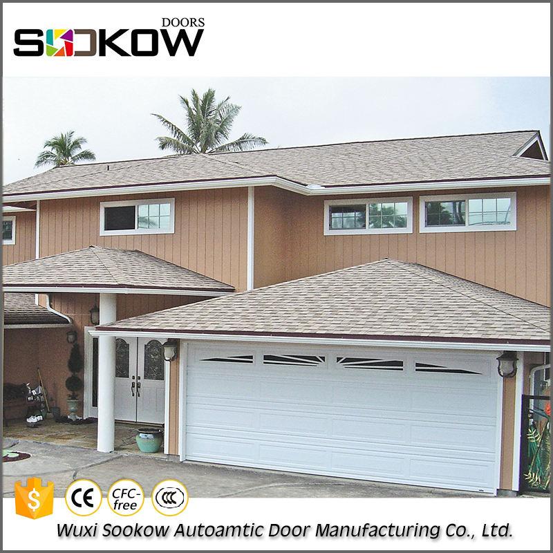 Promozionale acciaio 2 <span class=keywords><strong>auto</strong></span> alla moda residenziale <span class=keywords><strong>verticale</strong></span> pieghevole design della porta del garage