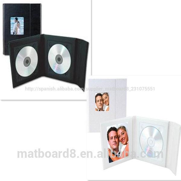 material de cuero y caja de cd y tipo de caso de dvd