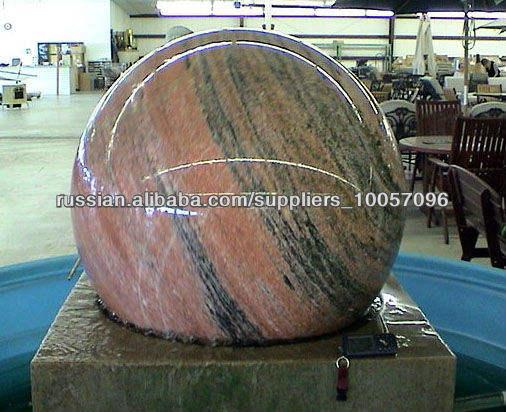 глобус фонтан