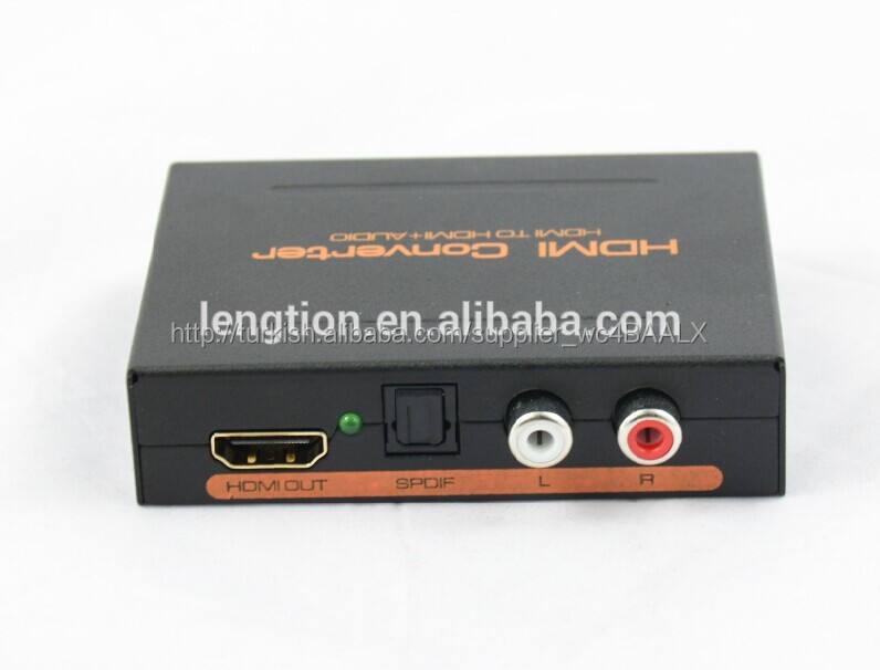Hdmi ile hdmi optik SPDIF ve rca ses çıkarıcı dönüştürücü hdmi ses splitter dekoder 5.1 Dolby dts