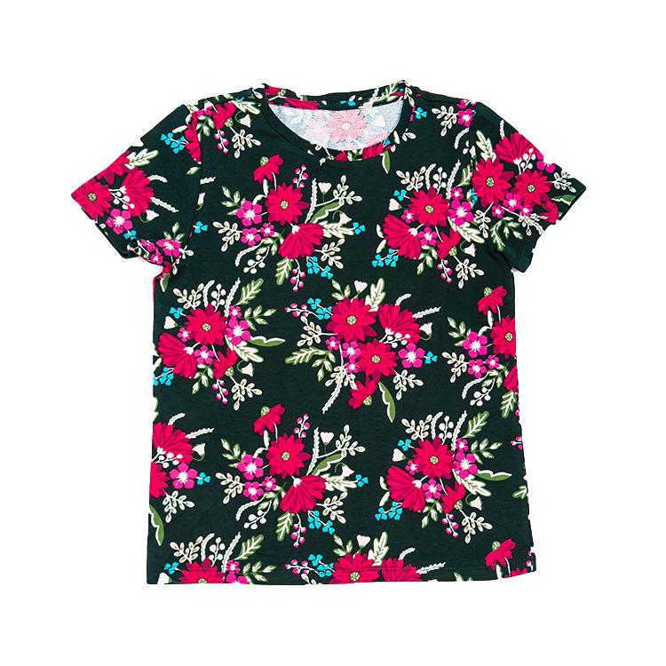 Пользовательские красочные оптовая продажа короткий рукав Детская футболка с принтом