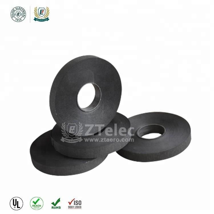 Горячая продажа Черного Крафт-полупроводниковые креп бумага с хорошей изоляцией материалы завод