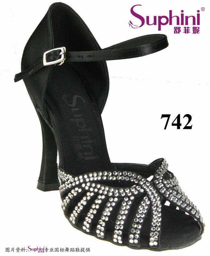 Las mujeres de mediana edad elegante danza de los zapatos 742