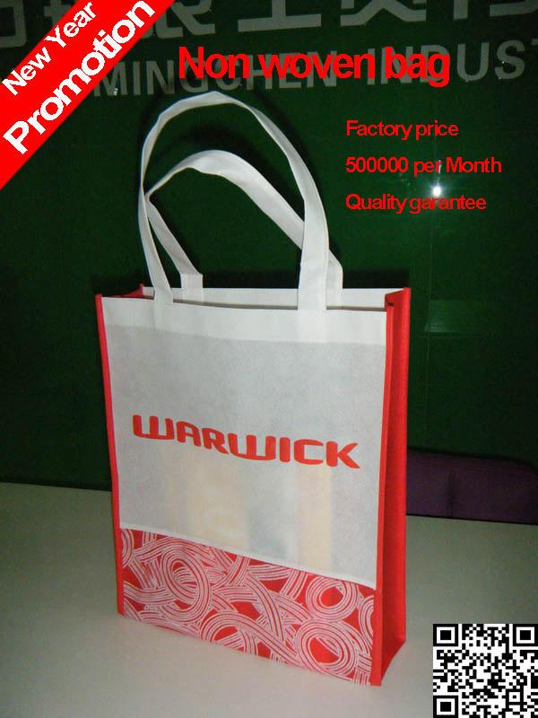 2014 китае производство роёдественские скидки цена маркетинга и рекламы мешок/нетканые экологически hangbag