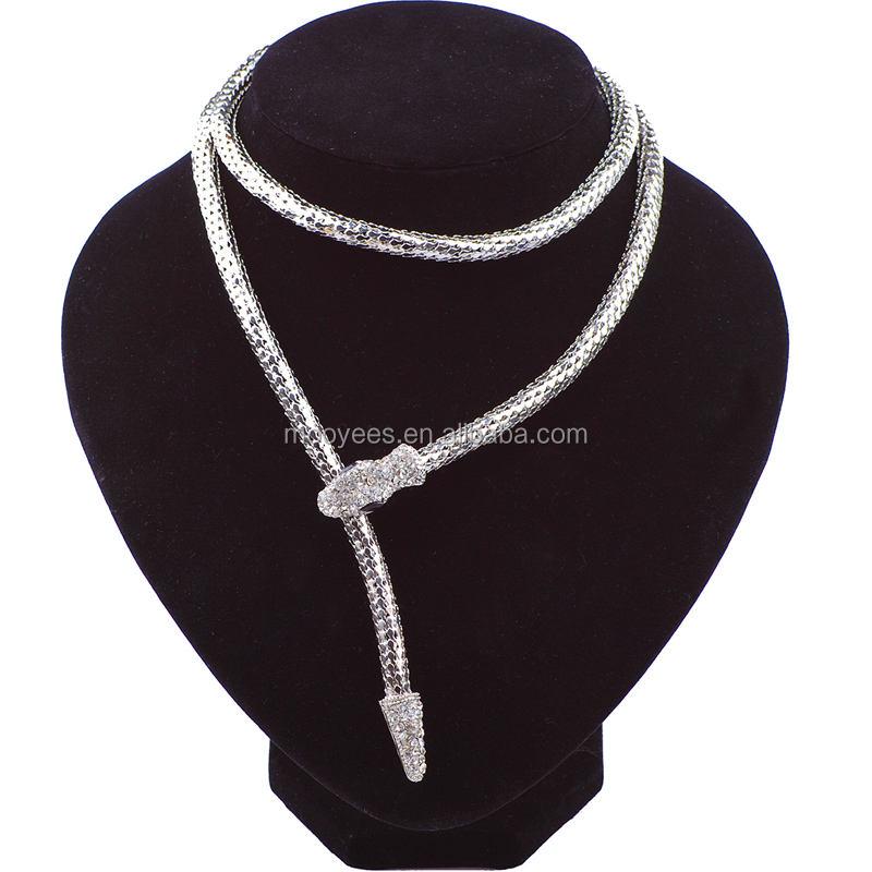 Dernière conception simple imitation 18 k or pendentif déclaration africaine bijoux collier vintage