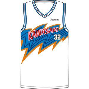High Quality OEM Service Basketball Jersey White Blue Color design Basketball Uniform For Men