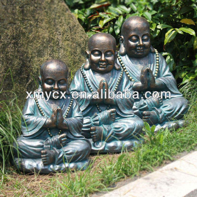 Fiberstone laughing buddha estatuas para la decoración del <span class=keywords><strong>jardín</strong></span>