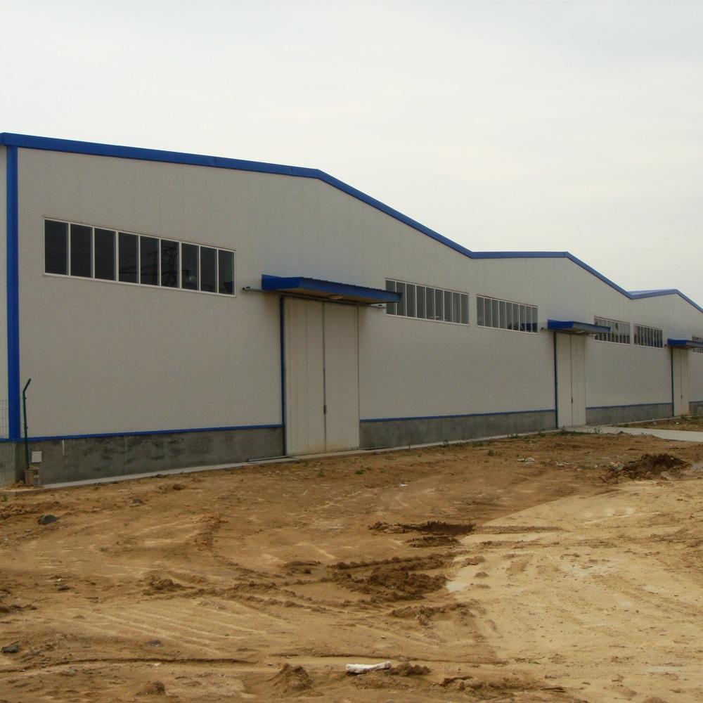 Diseño perfecto dibujo prefabricados de estructura de acero de construcción de acero de almacén