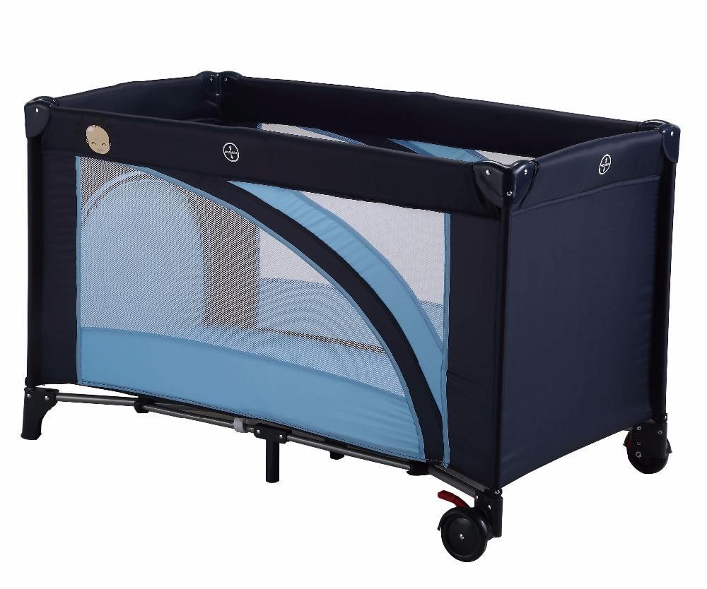 Llevar Hotel niños metal plegable portátil plegable de viaje cuna