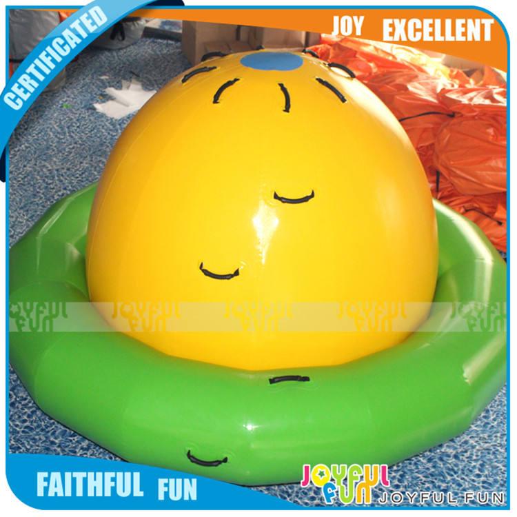 Freizeitpark Wasserspielgeräte Aufblasbare Wasser <span class=keywords><strong>UFO</strong></span> <span class=keywords><strong>Luft</strong></span> Schwebende Objekte Spielzeug für Verkauf