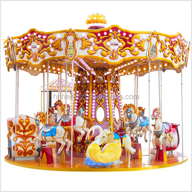 Neueste Art Karussell Horse Rides <span class=keywords><strong>Park</strong></span> Amusement 24 Sitze