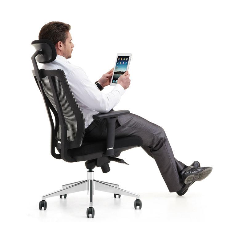 Nueva llegada de calidad <span class=keywords><strong>superior</strong></span> silla de oficina de malla/silla ergonómica malla/jefe