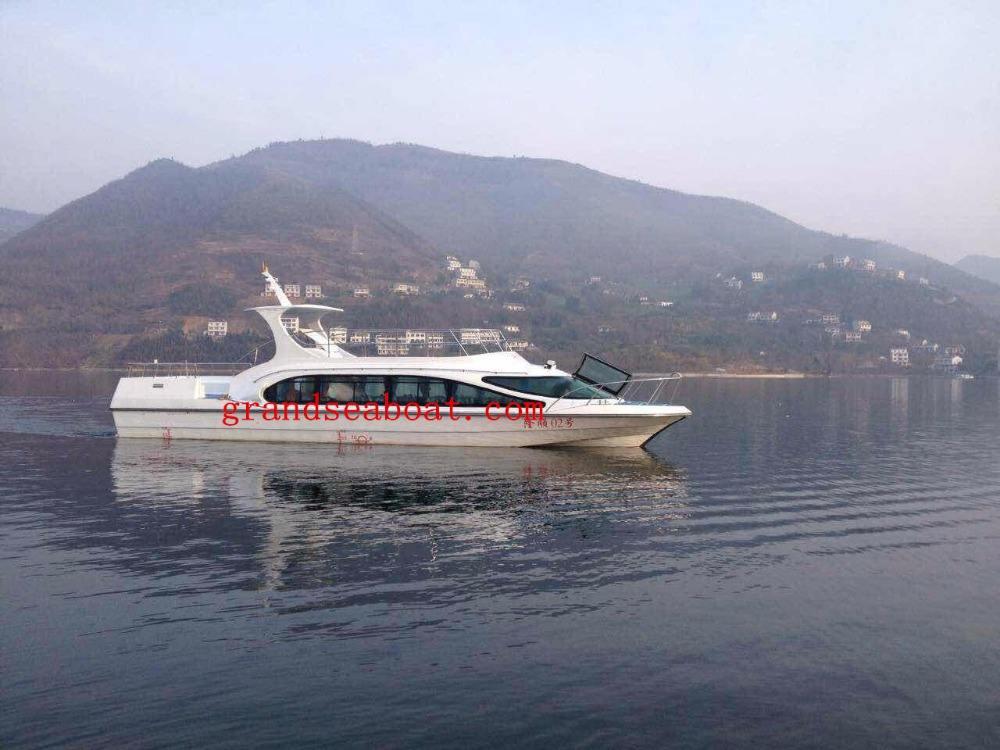 50 asientos de fibra de Vidrio de Pasajeros Ferry y Barcos Redondo para La Venta