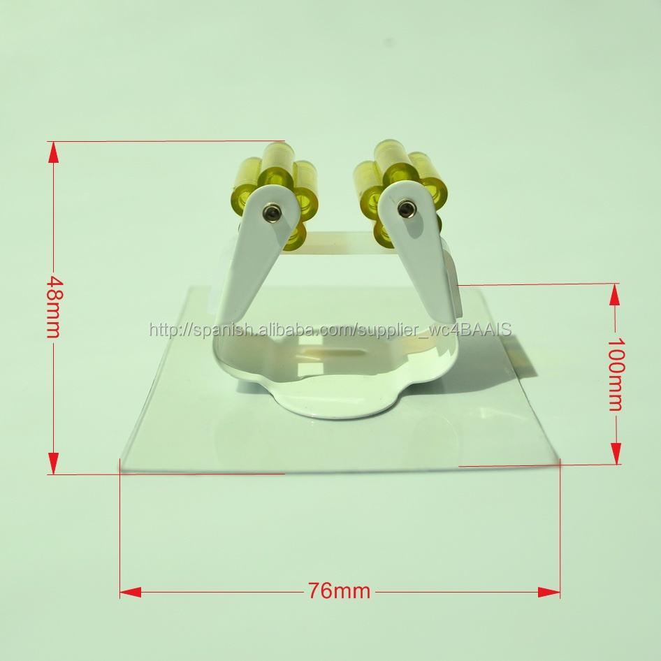 Sin uñas No marca extraíble adhesivo magia de plástico Holder Mop
