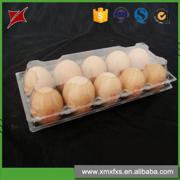 Neuestes Design! Blister PVC in 10er Packs Kunststoff Eierablage