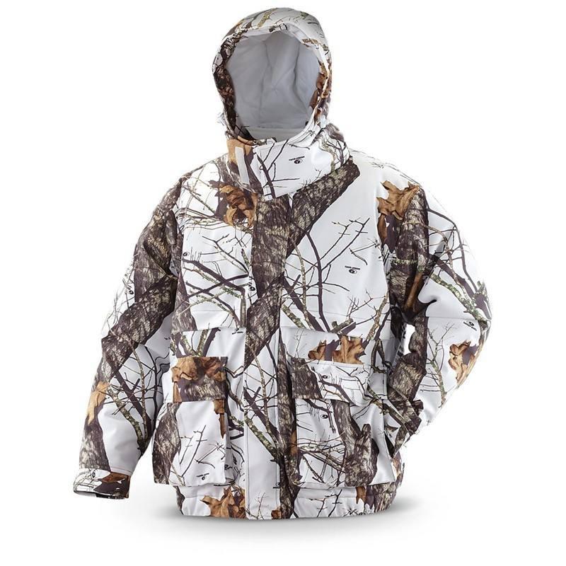 Мужские саржевые персик ветрозащитный лыжный камо охотник комплект