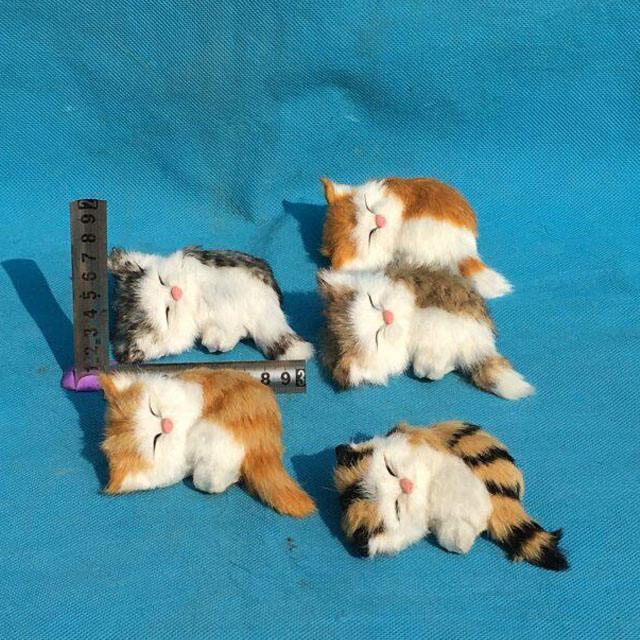 アンティーク安いクリスマス猫ぬいぐるみ動物