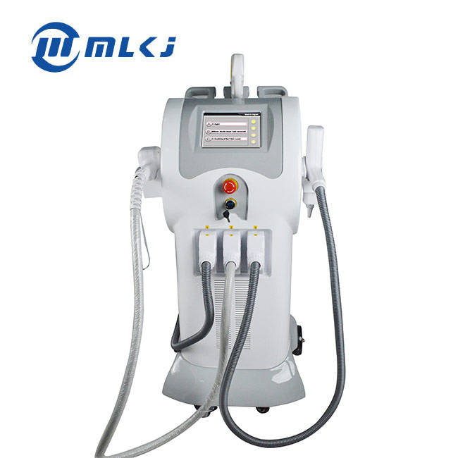 High quality professional 3 in 1 multifunctional nd yag laser q switch diode laser hair removal with german laser machine