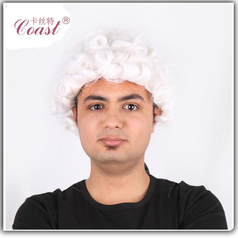 Chất lượng tốt nhất thời trang tóc giả tóc Colonial bán buôn nhà sản xuất tóc