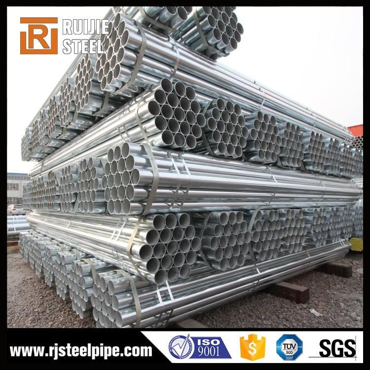 Peso leggero tubo di acciaio, 37mm rotondo tubo di acciaio, tubo di ferro