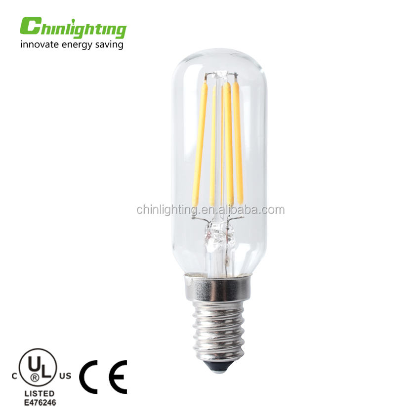 Mini tube E14 T22 1.2w led filament lamp t22 crème glas filament led lamp t22 t20 led filament <span class=keywords><strong>edison</strong></span> lamp 360