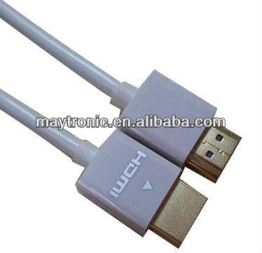 Câble hdmi avec coque en abs, le mieux adapté pour la tvhd, ps 3, bru-ray