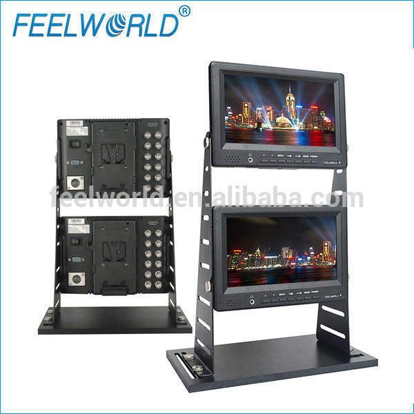 Feelworld 7 pulgadas CCTV Monitor con <span class=keywords><strong>cámara</strong></span> Crane Jib para su difusión FW679-JC / S