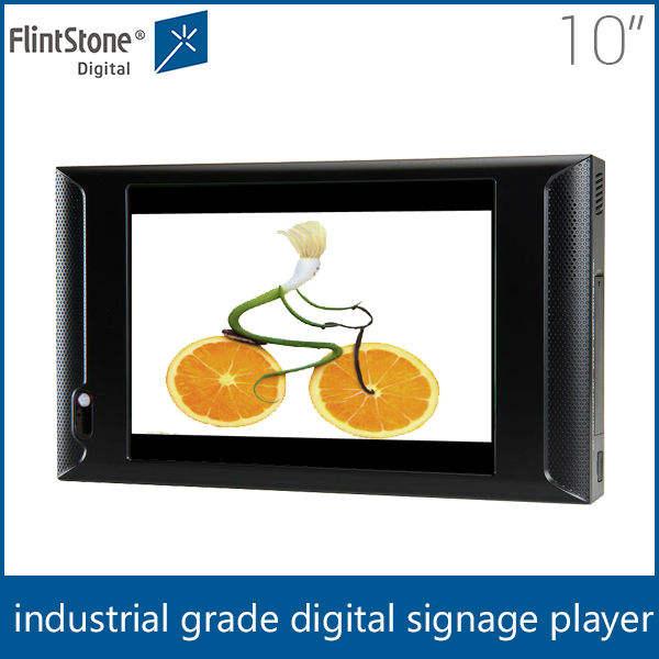 10 moniteur lcd avec carte sd/écran vidéo/lcd publicité equipement
