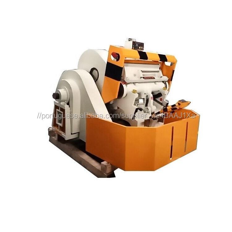 1100 ML Caixa de Pizza de Papelão Ondulado Fazendo cortando & vincando máquina