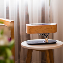 MESUN Hot Sales Tree table lamp with wireless charger and music speaker, good for hotel, Home use