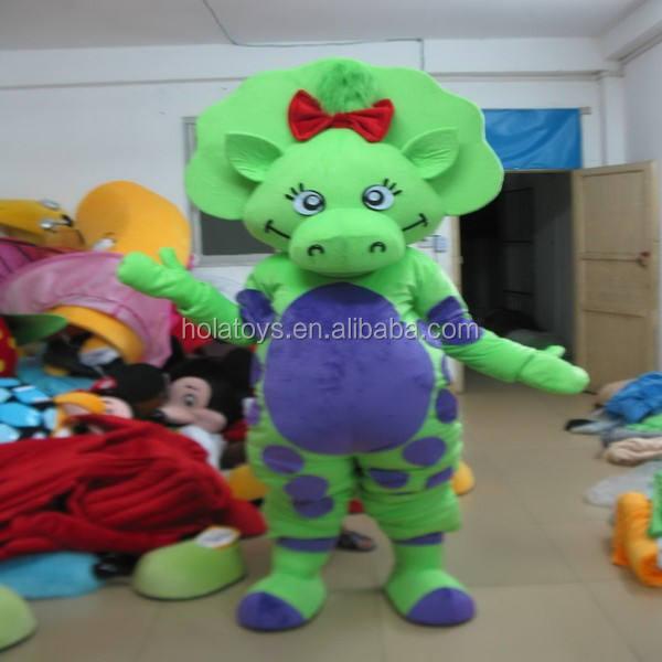 Hola tại chỗ thực tế trang phục khủng long/mascot costume adult