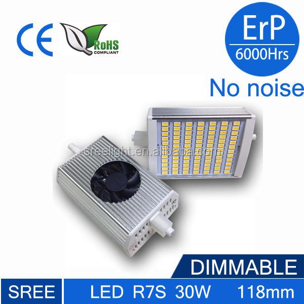 5630 SMD LED J118 regulável r7s lâmpada de poupança de energia
